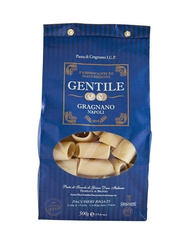 Paccheri Rigati di Gragnano igp del pastificio Gentile