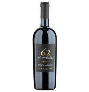 Vino rosso primitivo di Manduria Riserva