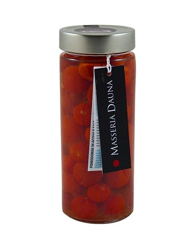 Pomodorini freschi pugliesi conservati in salamoia