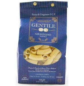 Pasta di Gragnano formato Candele corte del pastificio Gentile