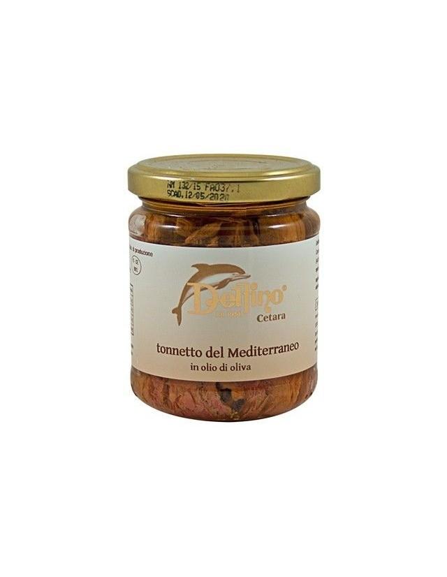 Filetti di Tonnetto del Mediterraneo in olio extravergine di oliva