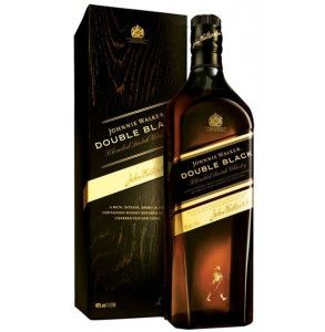 Johnnie walker whisky double black astucciato