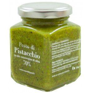Pesto di Pistacchio artigianale in olio etravergine per pasta e crostini