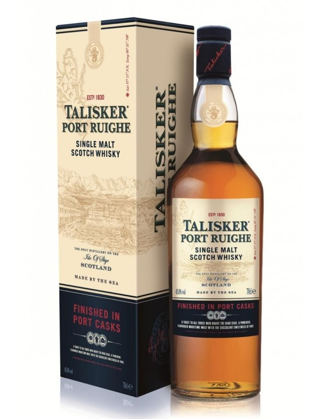 Whisky Talisker Port Ruighe astucciato