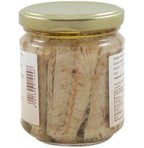 Conserva di filetti di sgombro del mediterraneo sott'olio