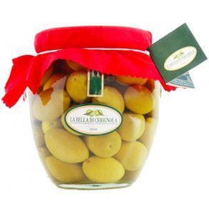 Olive di Cerignola giganti in salamoia