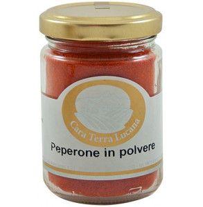Polvere di peperone dolce essiccato (crusco) di Senise