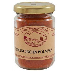Polvere di peperoncino piccante in vasetto da 50 gr