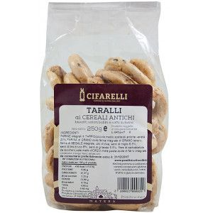 Taralli artigianali ai cereali antichi