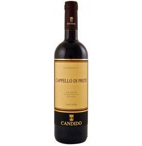 Vino rosso negroamaro dell'azienda Candido