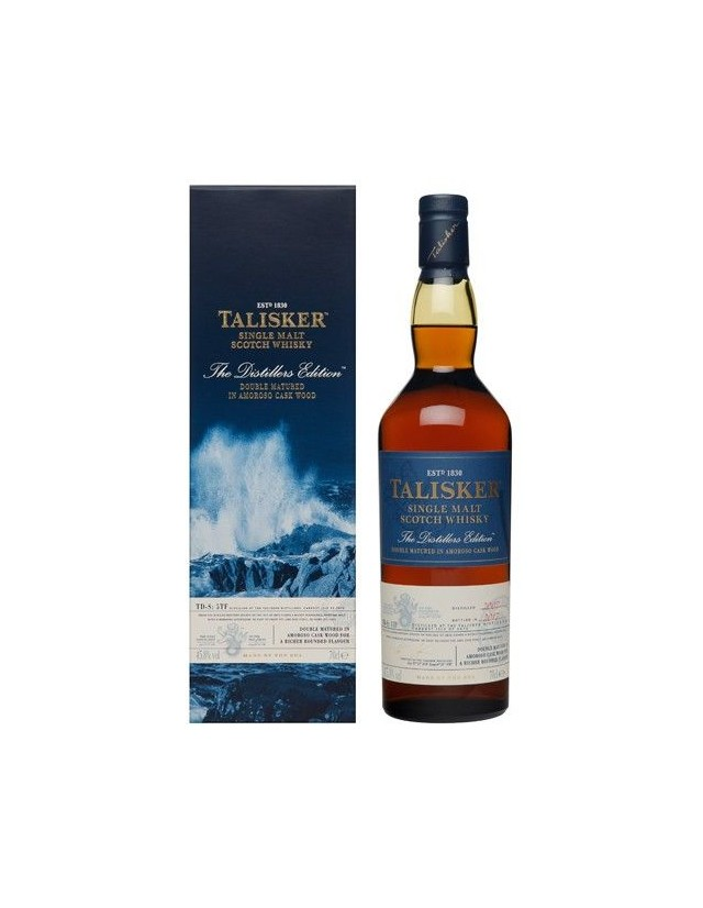 Whisky Talisker Distiller Edition 2017 in confezione regalo