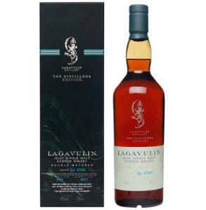 Whisky Lagavulin Distiller Edition 2017 in confezione regalo