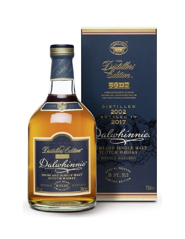 Whisky Dalwhinnie Distillers Edition 2017 in confezione regalo