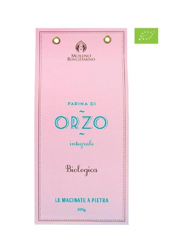Farina Biologica Integrale di Orzo 400 gr.