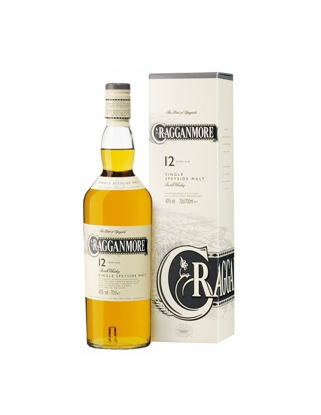 Cragganmore 12 years old Single Speyside Malt Whisky