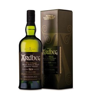 Whisky Ardbeg 10 years old single malt astucciato