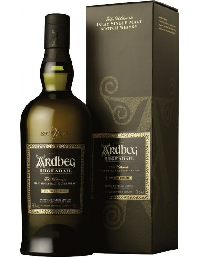 Ardbeg Uigeadail Single Malt Scotch Whisky Astucciato