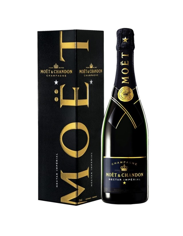Champagne Nectar Imperial Moet Chandon astucciato