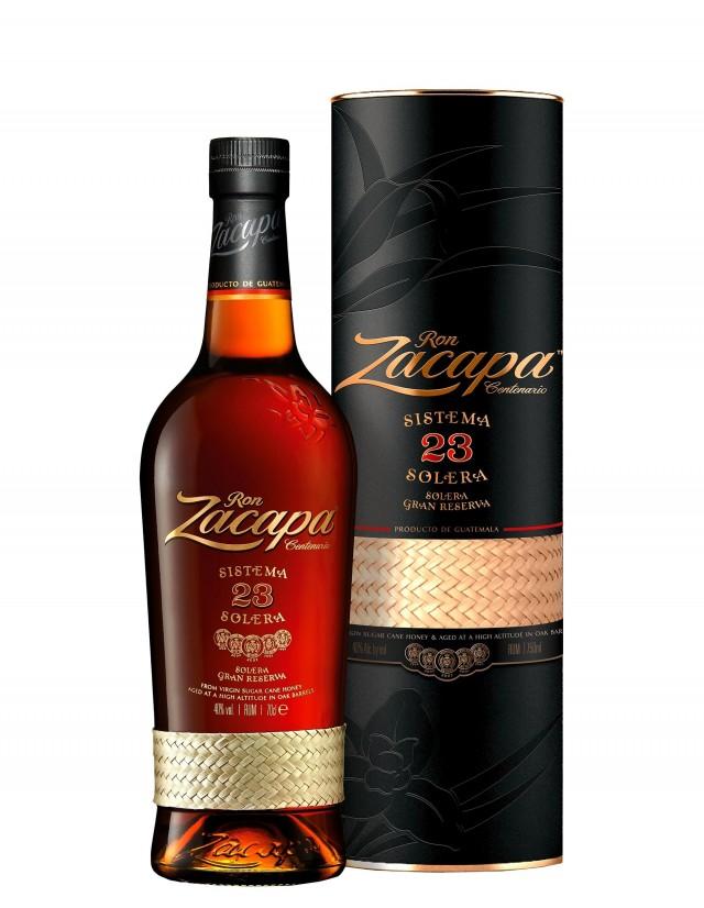 Il rum zacapa più famoso e diffuso al mondo in confezione astucciata