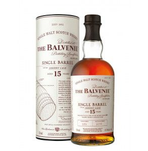 whisky single malt The Balvenie 15 years old single barrel sherry