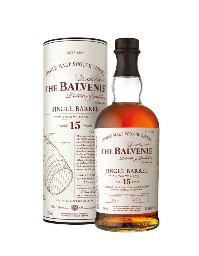 Balvenie Single Malt Scotch Whisky from Speyside