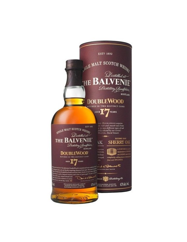 The Balvenie 17 years old whisky doublewood