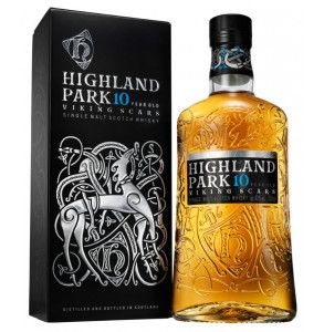 Scotch whisky Highland Park 10 Viking Scars