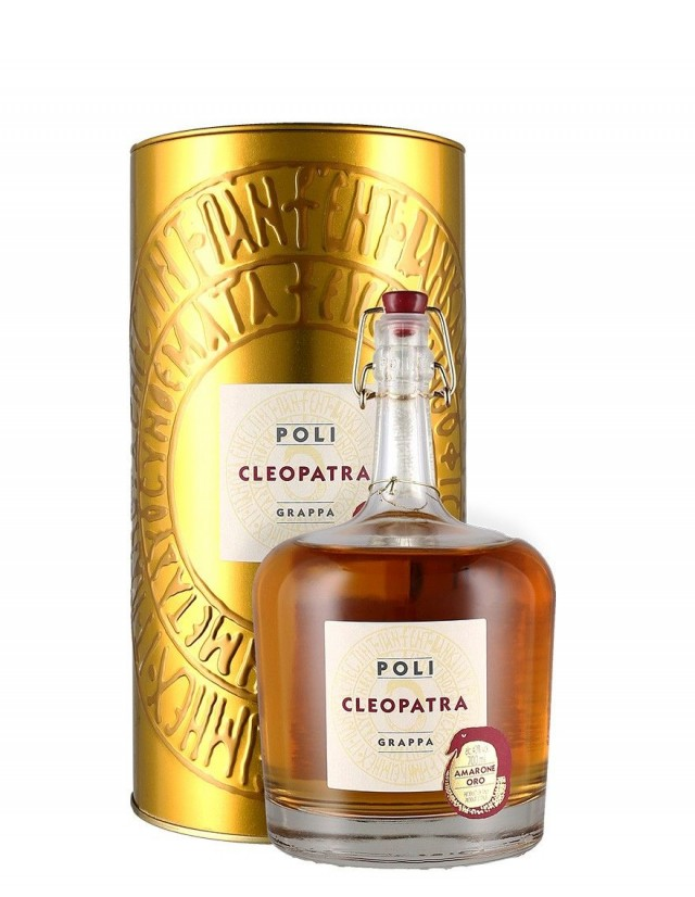 Grappa di Amarone barricata prodotta dalle distillerie Poli