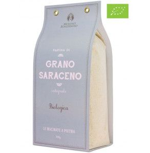 Farina di grano saraceno integrale biologica in confezione da 500 gr