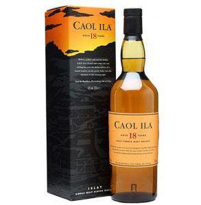 Whisky Caol Ila invecchiato 18 anni