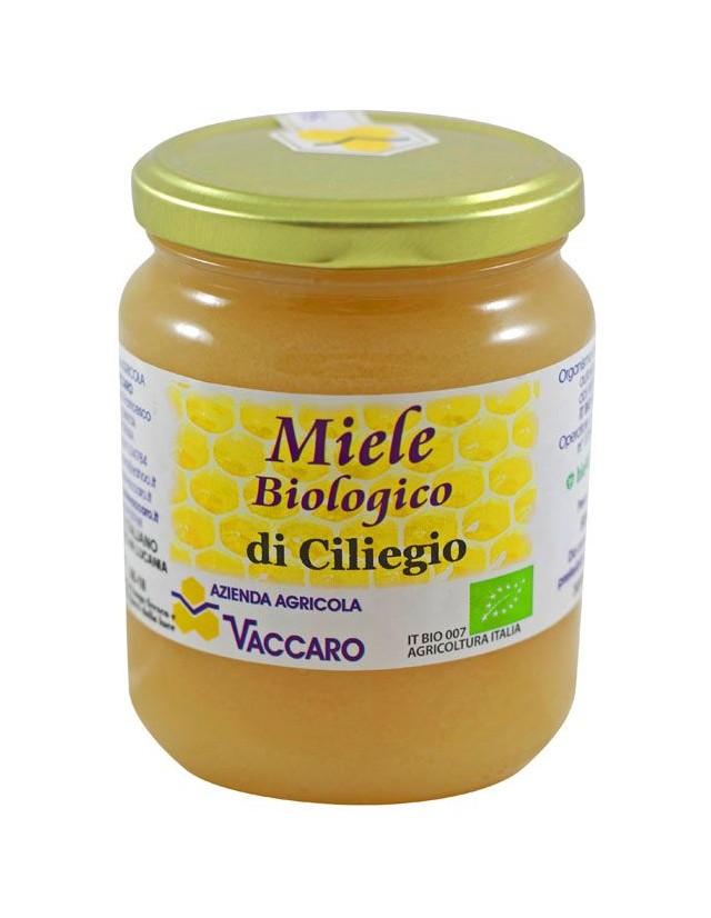Miele di ciliegio biologico prodotto in Basilicata