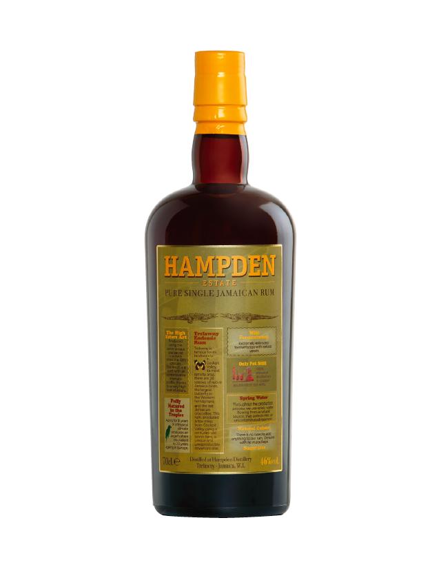 Rum Jamaicano delle distillerie Hampden Estate