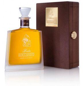 Grappa di Barbera Roccanivo prodotta dalle distillerie Berta.