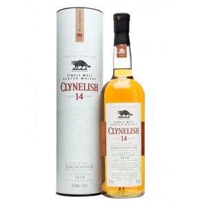 Scotch Whisky Clynelish invecchiato 14 anni con astuccio rigido