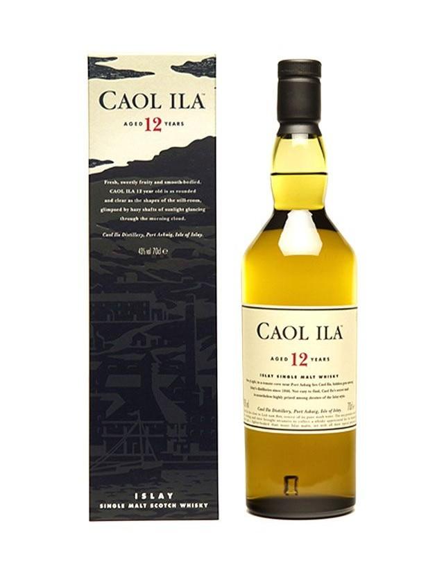 Whisky Caol Ila invecchiato 12 anni astucciato
