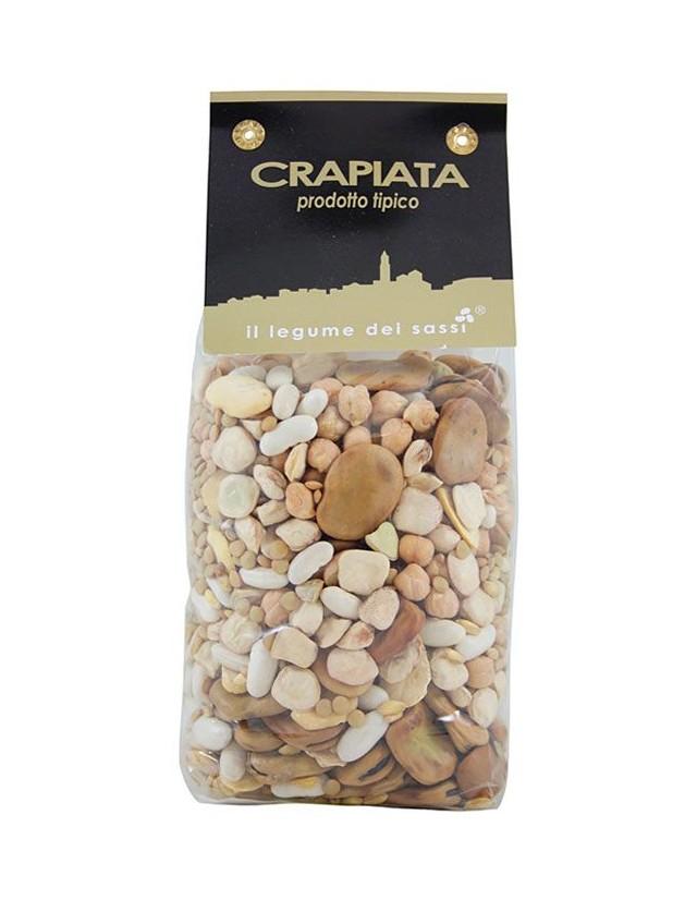 Zuppa di legumi con grano tipica di Matera