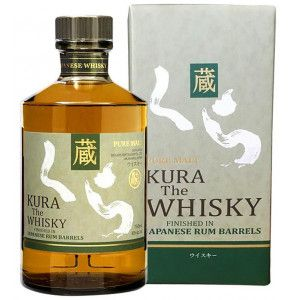 whisky giapponese Kura The Whisky affinato in botti di rum