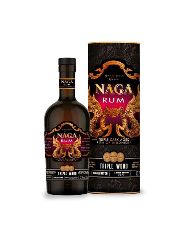 Naga Rum Indonesiano invecchiato in 3 differenti legni