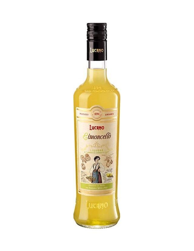 Limoncello prodotto con limoni di Sorrento