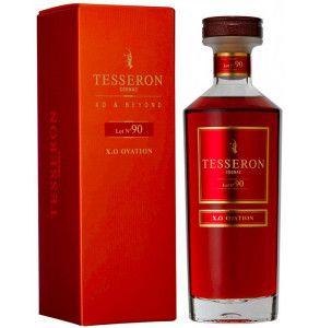 Cognac XO Ovation prodotto da Tesseron da uve provenienti dalla zona della Grande Champagne