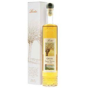 Giulia è una grappa Berta da vinacce di Chardonnay e Cortese