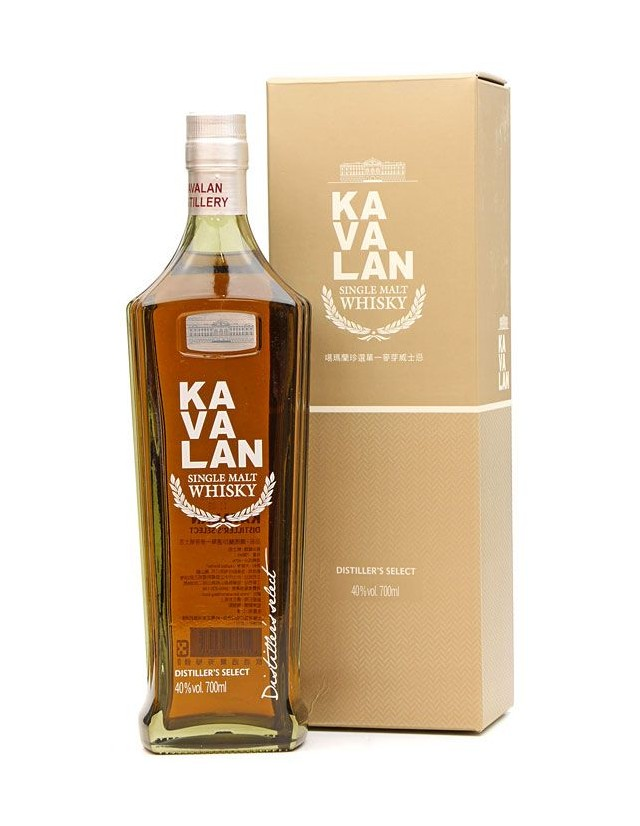 whisky Taiwanese distiller's select by Kavalan