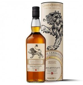 Scotch Whisky Lagavulin 9 House Lannister limited edition Games of Thrones