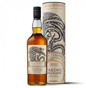 Cardhu Gold Reserve è uno scotch whisky edizione Games of Thrones