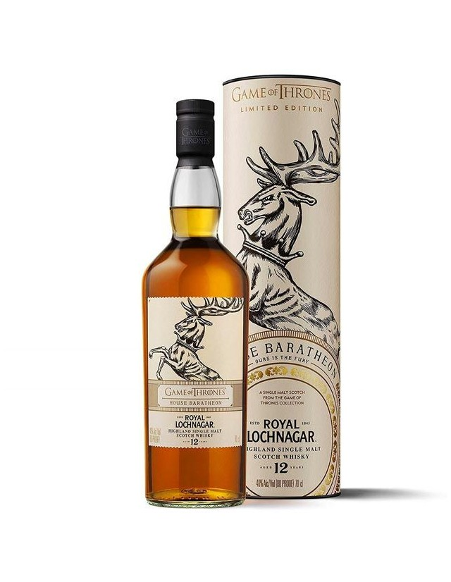 Royal Lochnagar 12 years old House Baratheon edizione Games of Thrones