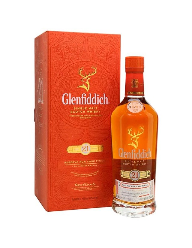 Glenfiddich 21 Single Malt Whisky