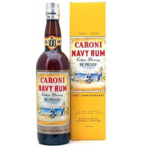 Rum Caroni Navy 90° Proof Extra Strong