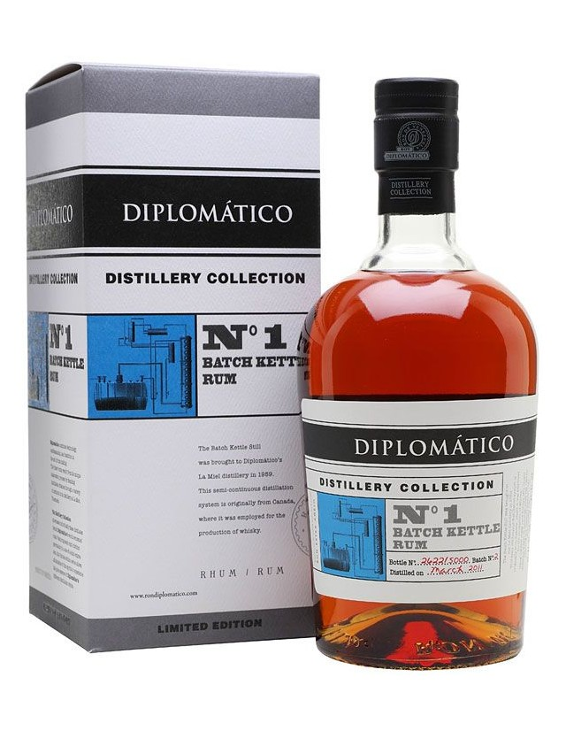 Rum Diplomatico Distillery Edition n.1 Batch Kettle