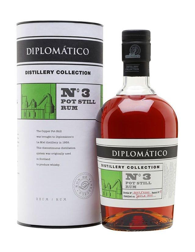 Rum Diplomatico N°3 Pot Still Distillery Collection