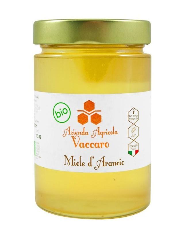 Miele biologico di arancio